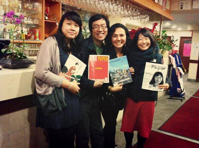 Kristin Cheung, Charlie Cho, Anna Ling Kaye, Madeleine Thien