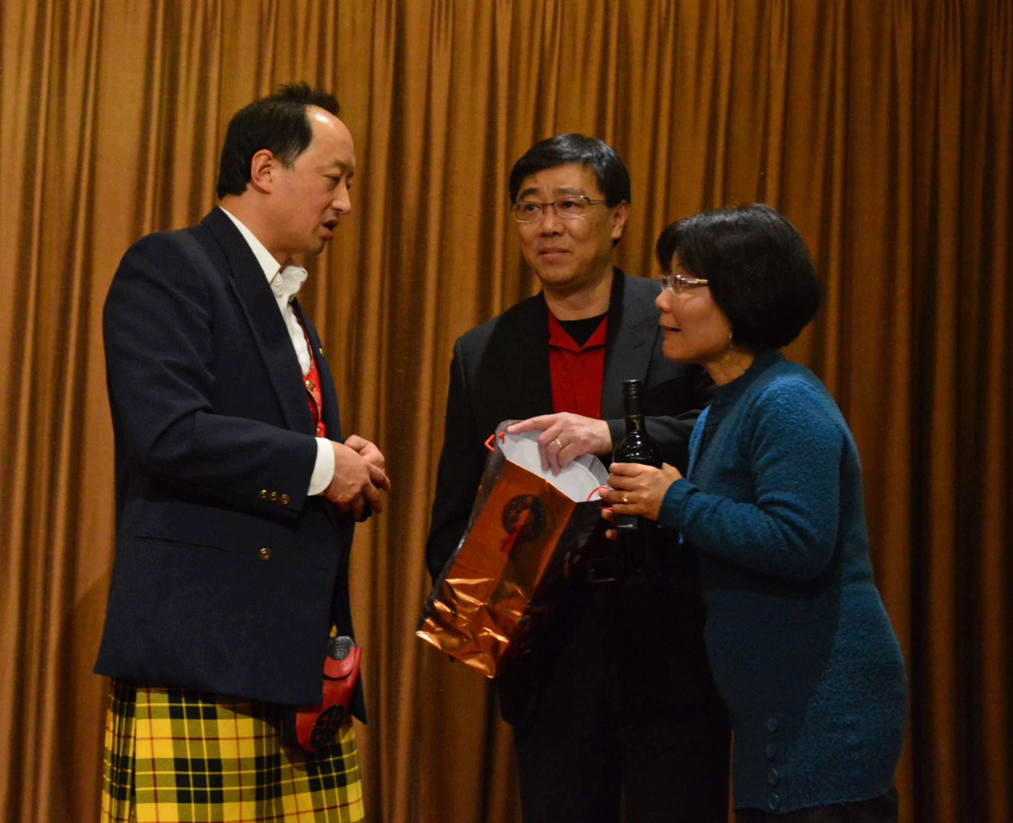 Todd Wong, Winnie Cheung, and David HT Wong